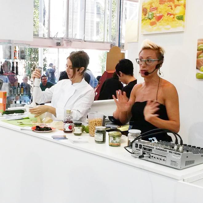 Creazione programma eventi per fiere food e benessere